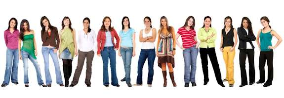 how many friends you have group of women