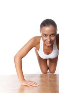 pushups girl Exercises To Lose Weight