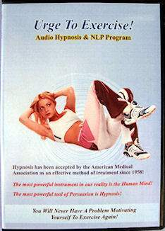 Hypnosis Exercise Motivation CD