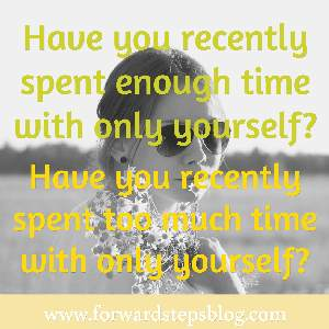 Time with yourself